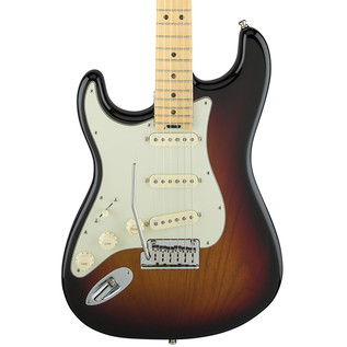 Fender American Elite Left-Handed Strat MN, 3 Colour Sunburst