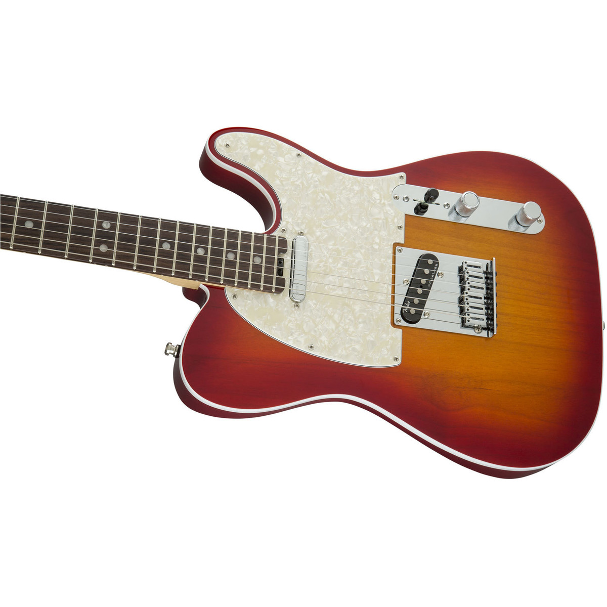 fender american elite telecaster rw aged cherry burst at. Black Bedroom Furniture Sets. Home Design Ideas