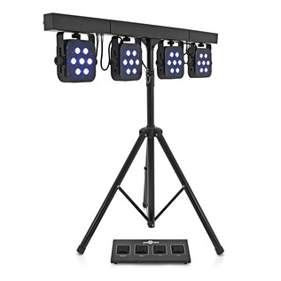 350w LED Par Set by Gear4music
