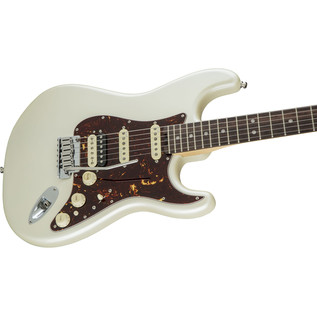 Fender American Elite Stratocaster, HSS Shawbucker RW, Olympic Pearl