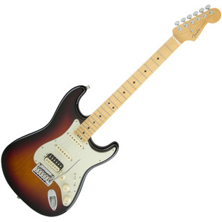 Fender American Elite Stratocaster HSS MN, 3-Color Sunburst