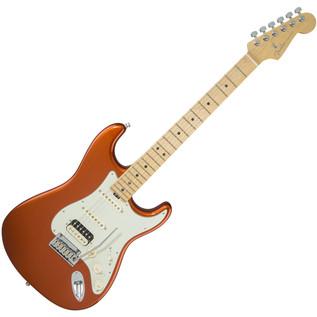 Fender American Elite Stratocaster, HSS MN, Autumn Blaze Metallic