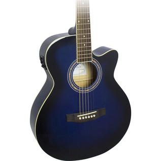 Freshman RENOCBL Folk Electro Acoustic Guitar, Blue