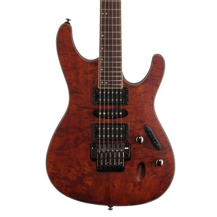 Ibanez S770PB Electric Guitar, Charcoal Brown Flat