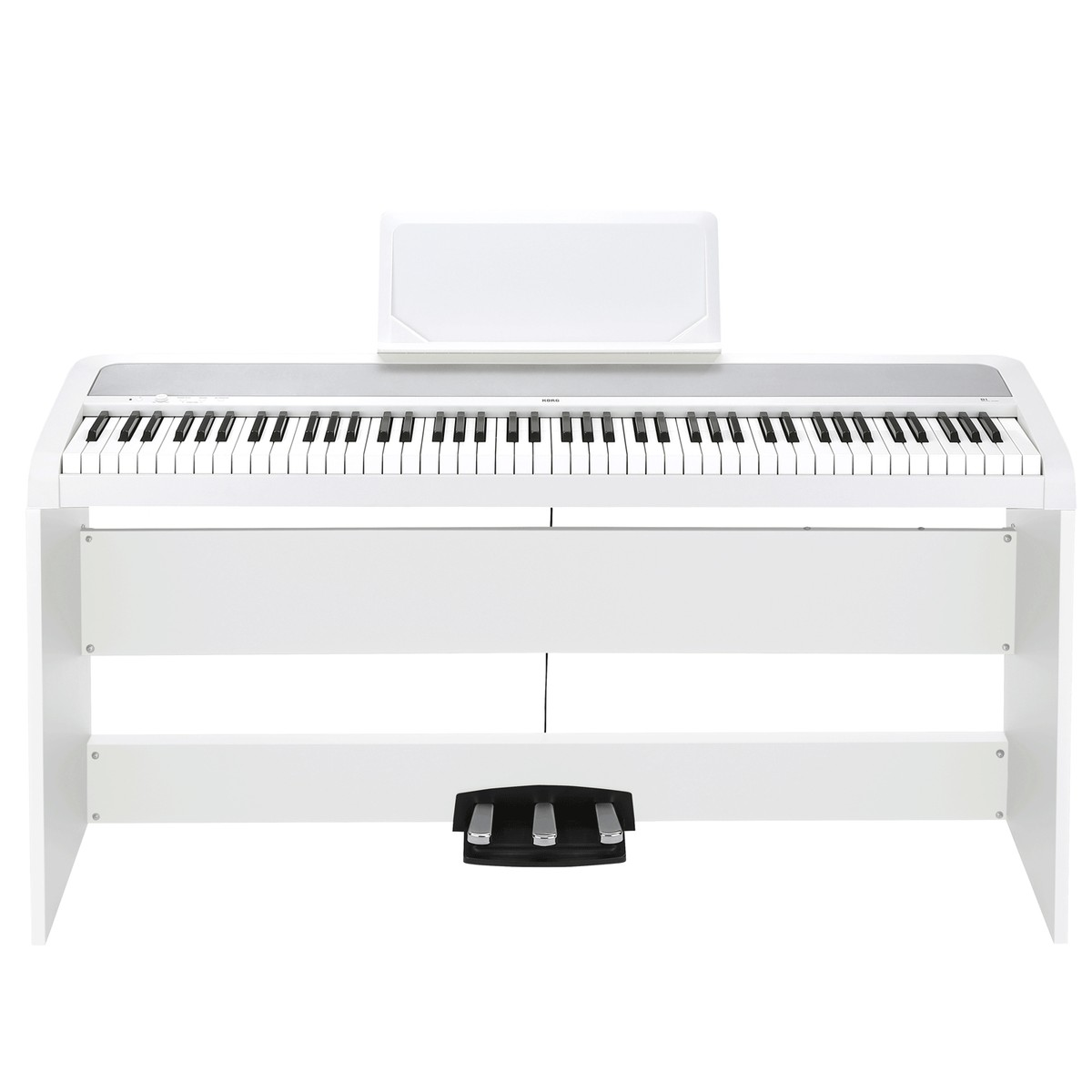 korg b1sp digital piano white at. Black Bedroom Furniture Sets. Home Design Ideas