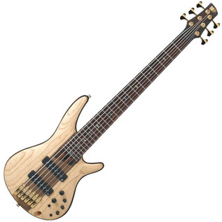 Ibanez 2016 SR1306-NTF 6-String Premium Bass Guitar SR - Angled View