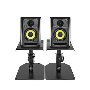 KRK Rokit RP4 G3 Studio Monitors with Desktop Stands, Pair