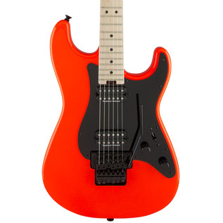 Charvel So-Cal Pro Mod Style 1 2H FR Electric Guitar, Rocket Red