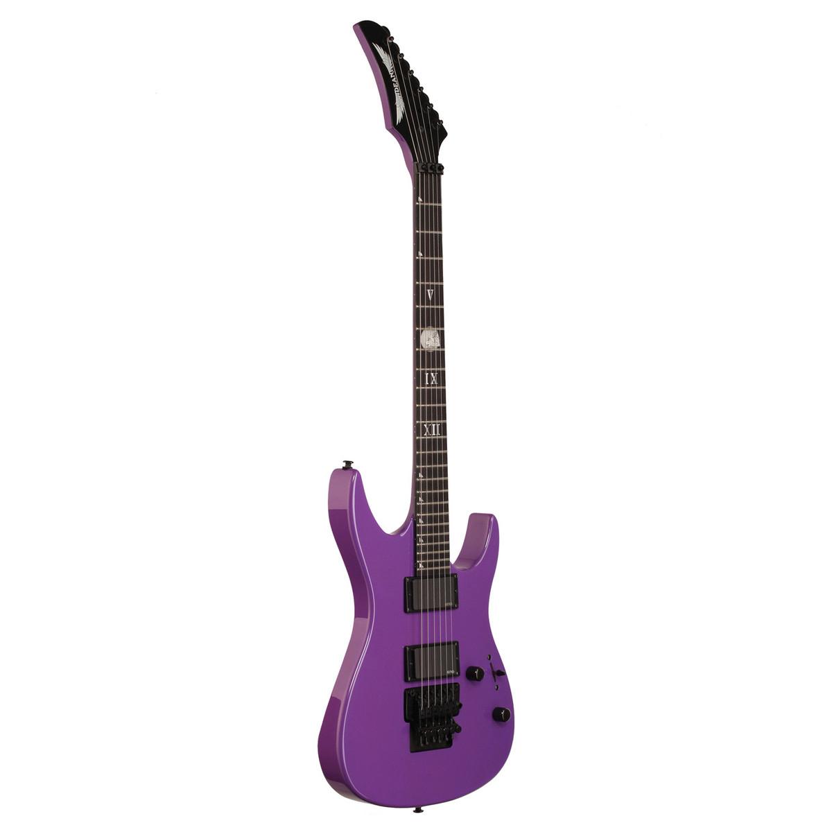 Dean Jacky Vincent C450F Electric Guitar, Purple - Ex Demo ...