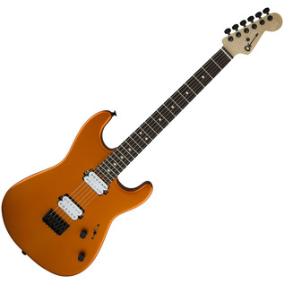 Charvel San Dimas Pro Mod SD1 HH HT Electric Guitar, Satin Orange Blaze