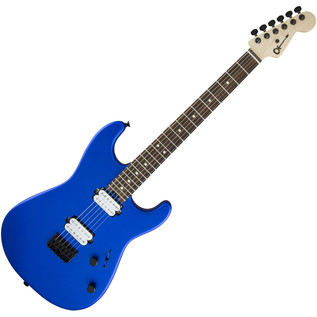 Charvel San Dimas Pro Mod SD1 HH HT Electric Guitar, Satin Cobalt Blue