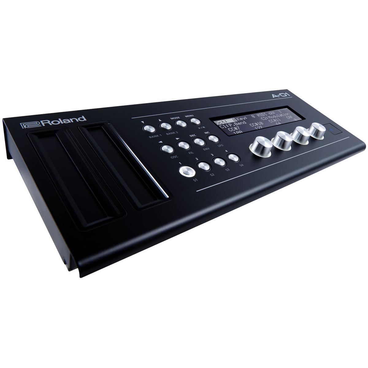 Roland boutique a 01 midi controller e generatore di suono for Generatore di piano