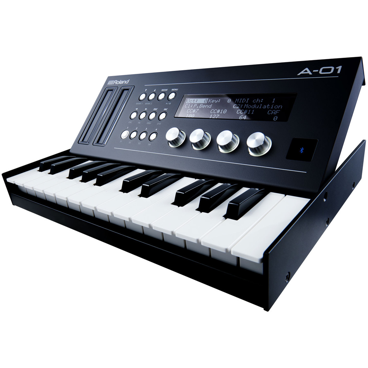 roland boutique a 01 midi controller and sound generator w keyboard at. Black Bedroom Furniture Sets. Home Design Ideas