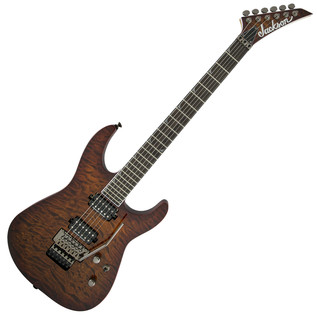 Jackson Pro Series Soloist SL2Q Electric Guitar, Transparent Amber