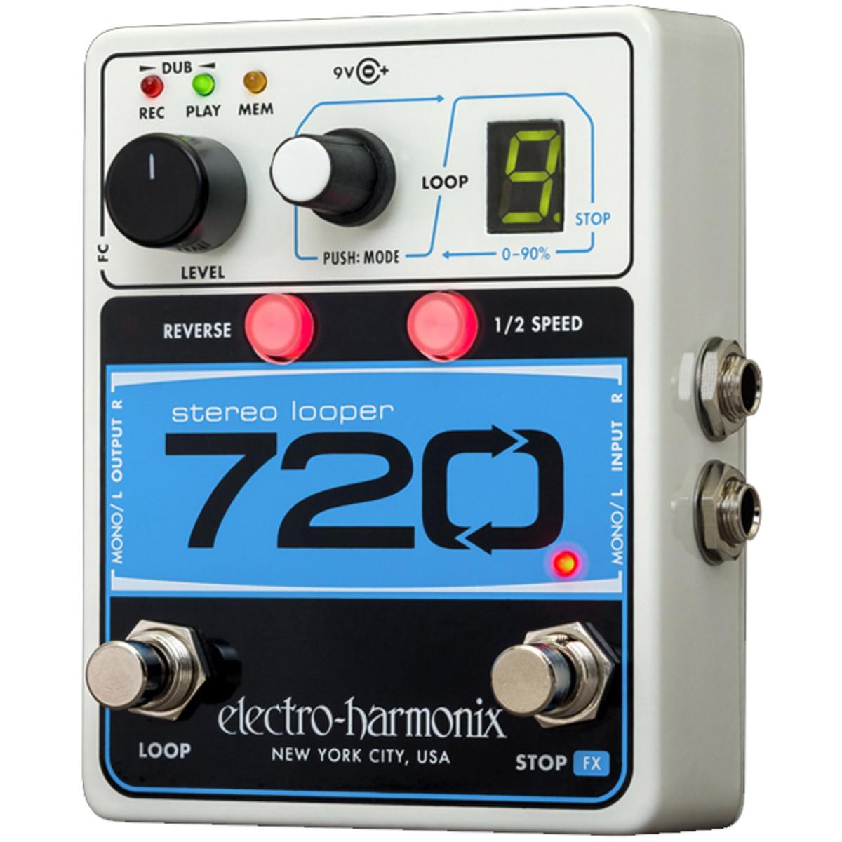 Image of Electro Harmonix 720 Stereo Looper Pedal