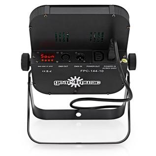 160w Flat LED Par Set by Gear4music