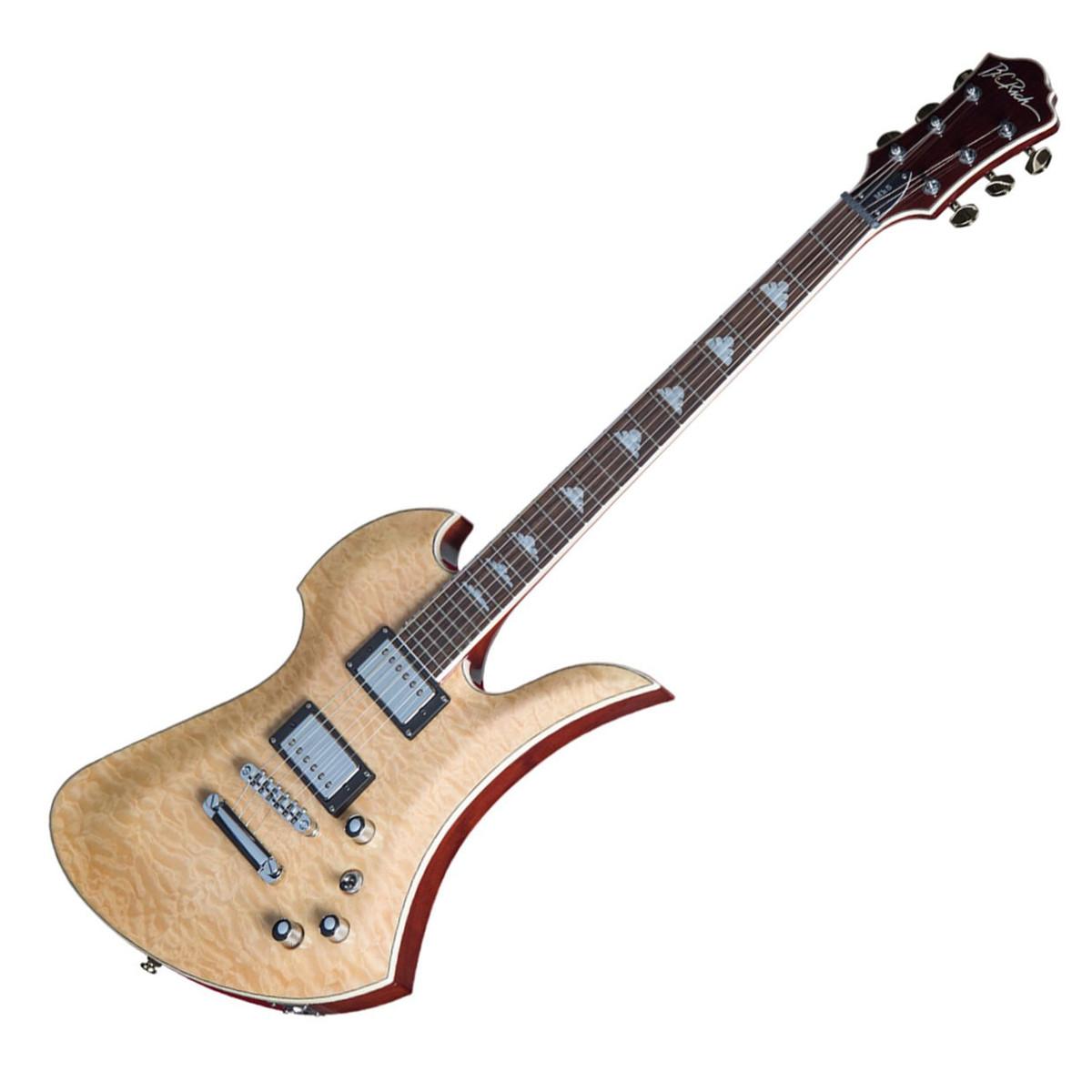 bc rich mockingbird mk5 electric guitar with trem natural at. Black Bedroom Furniture Sets. Home Design Ideas