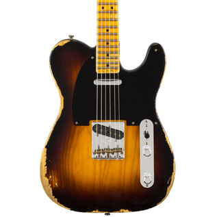 Fender Custom Shop 1951 Heavy Relic Telecaster, Faded Sunburst