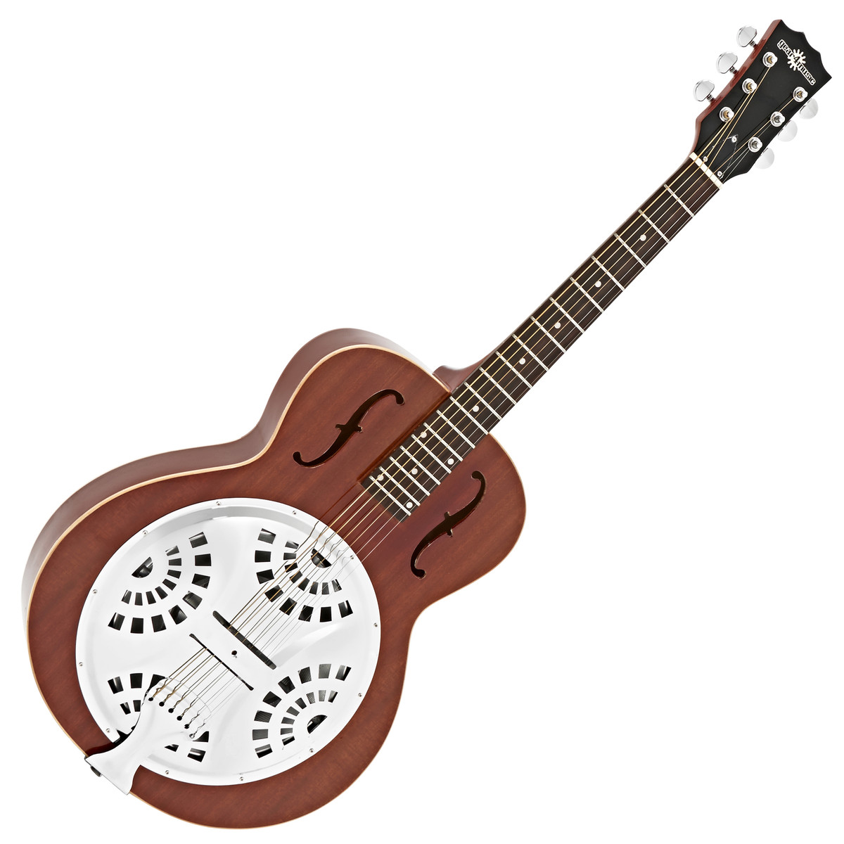 resonator guitar by gear4music natural b stock at. Black Bedroom Furniture Sets. Home Design Ideas