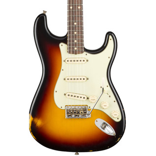 Fender Custom Shop 1961 Relic Stratocaster, 3-Colour Sunburst