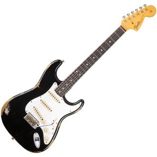 Fender Custom Shop 1967 Heavy Relic Stratocaster, BlackFender Custom Shop 1967 Heavy Relic Stratocaster, Black
