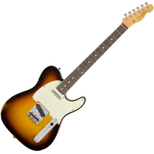 Fender Custom Shop 1962 Relic Telecaster Custom, 3-Colour Sunburst