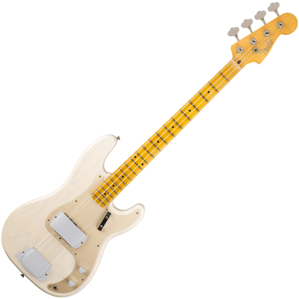 fender custom shop 1957 journeyman relic precision bass white blonde at. Black Bedroom Furniture Sets. Home Design Ideas