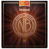 D'Addario cordes de guitare acoustique Bronze Nickel, Extra Light, 10-47