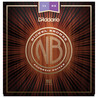 D'Addario cordes guitare acoustique Bronze de Nickel, Custom Light, 11-52