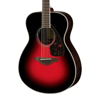 Yamaha FS830 Acoustic Guitar, Dusk Sun Red