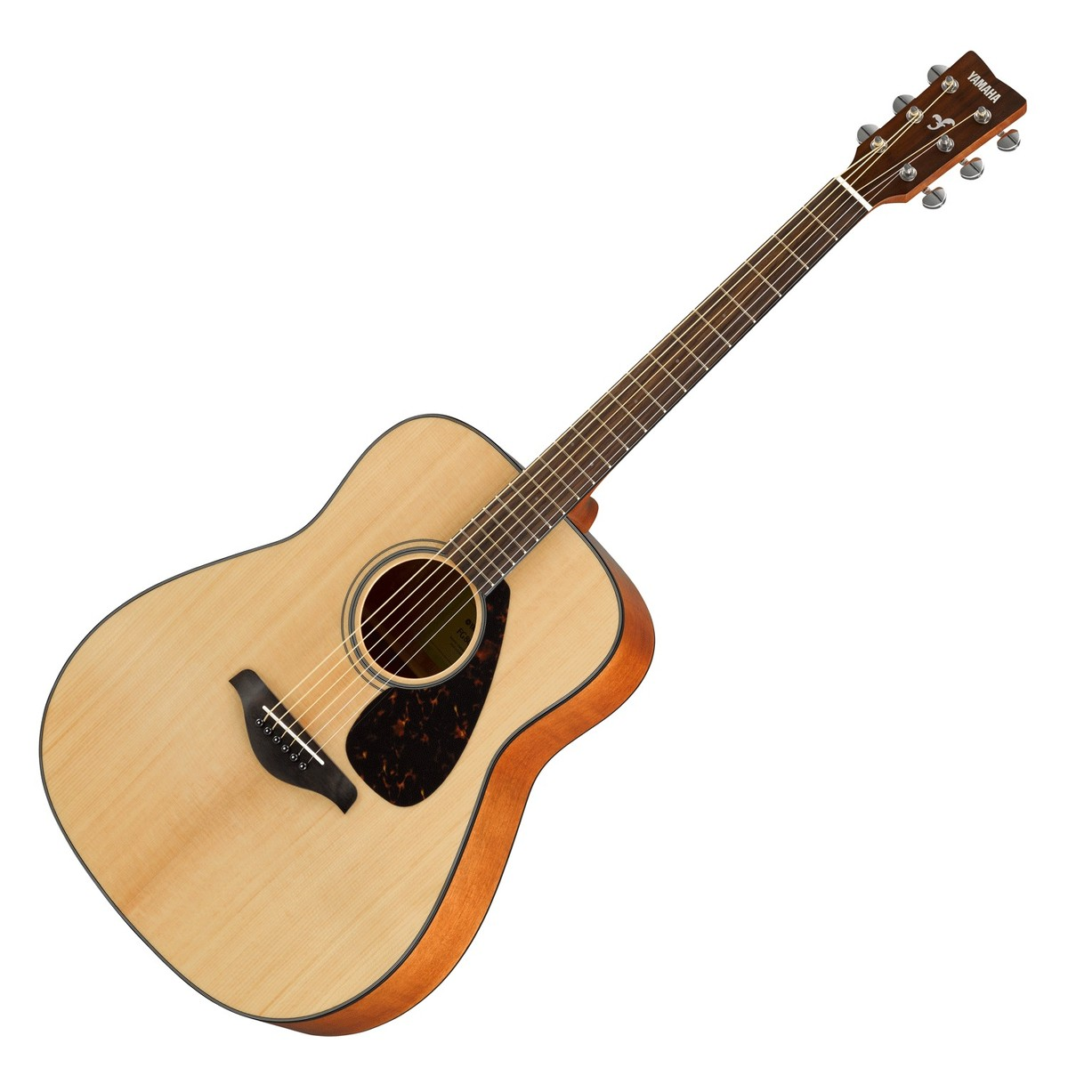 Yamaha fg800 acoustic guitar natural at for Yamaha acoustic bass guitar