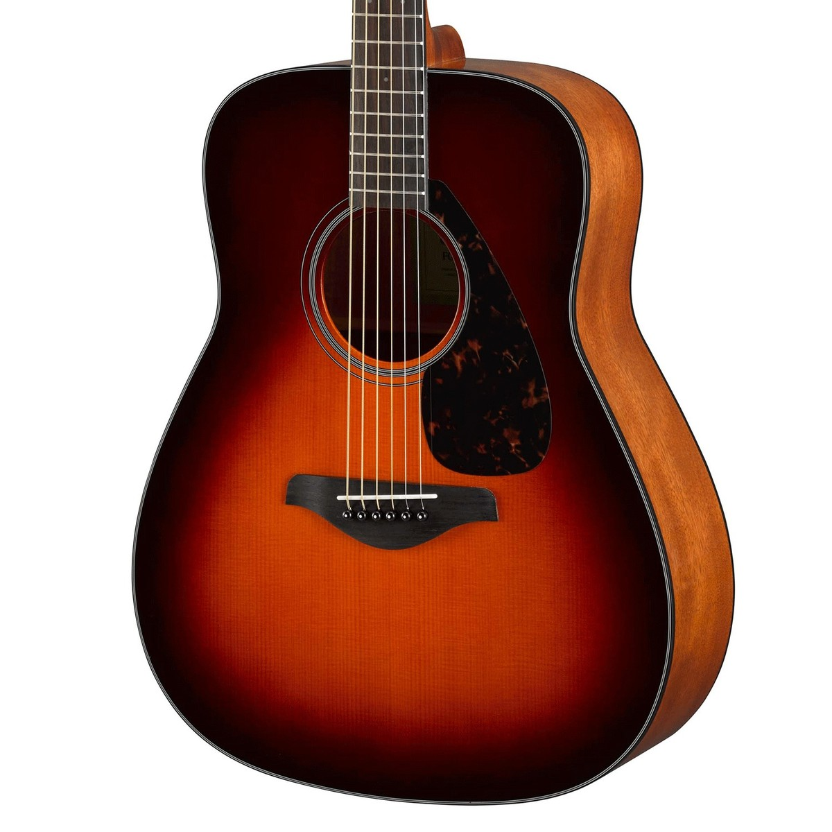 Yamaha fg800 acoustic guitar brown sunburst at for Yamaha classic guitar