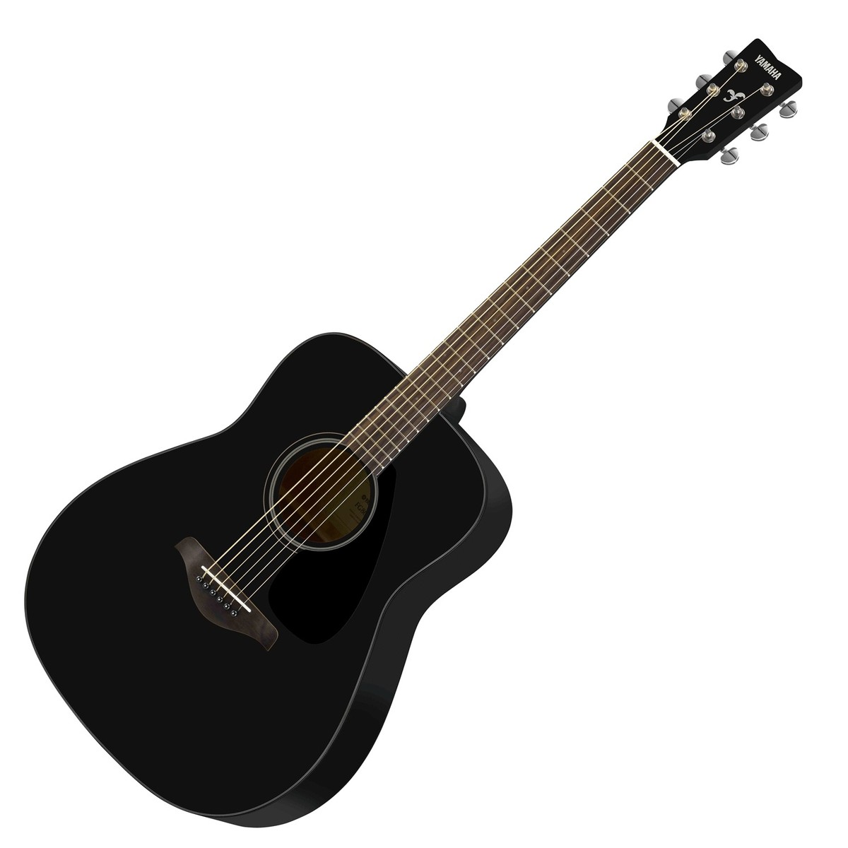 yamaha fg800 acoustic guitar black at