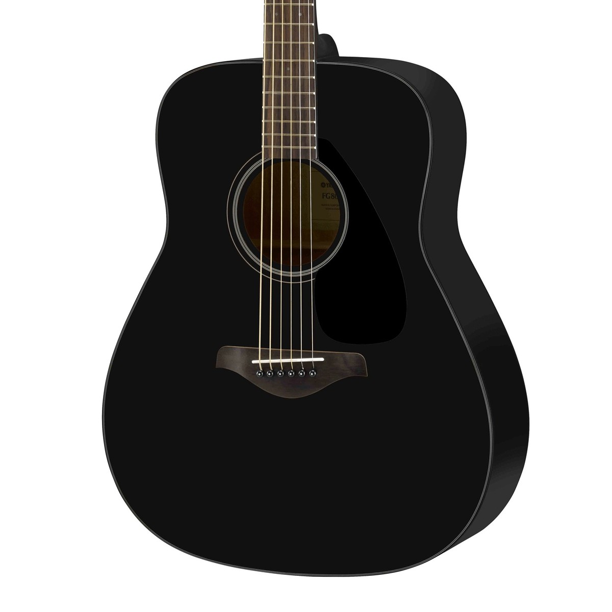 yamaha fg800 acoustic guitar black at. Black Bedroom Furniture Sets. Home Design Ideas