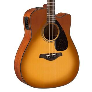 Yamaha FGX800C Electro Acoustic Guitar, Sandburst