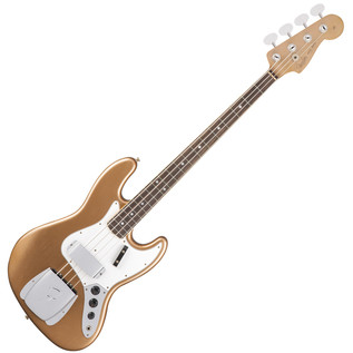 Fender Custom Shop 1966 Journeyman Relic Jazz Bass, Firemist Gold