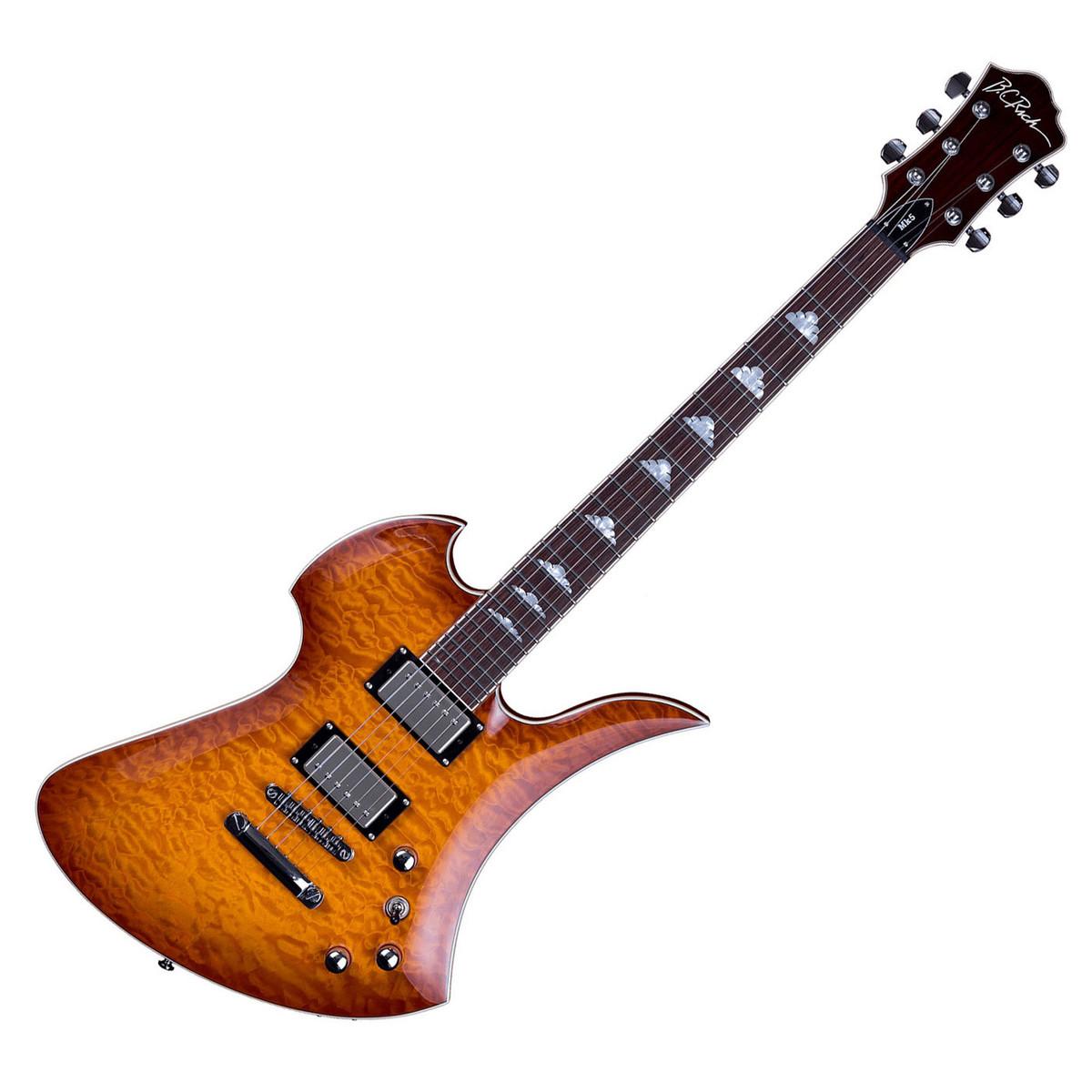 bc rich mockingbird mk5 electric guitar with trem amber burst at. Black Bedroom Furniture Sets. Home Design Ideas