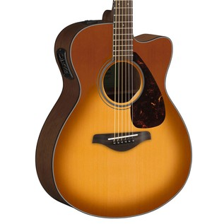 Yamaha FSX800C Electro Acoustic Guitar, Sandburst