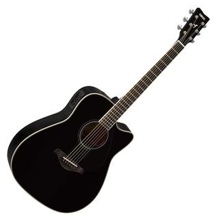 Yamaha FGX820C Electro Acoustic Guitar, Black