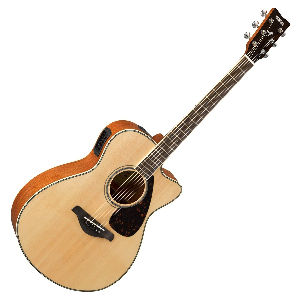 Yamaha fsx820c electro acoustic guitar natural at for Acoustic yamaha guitar