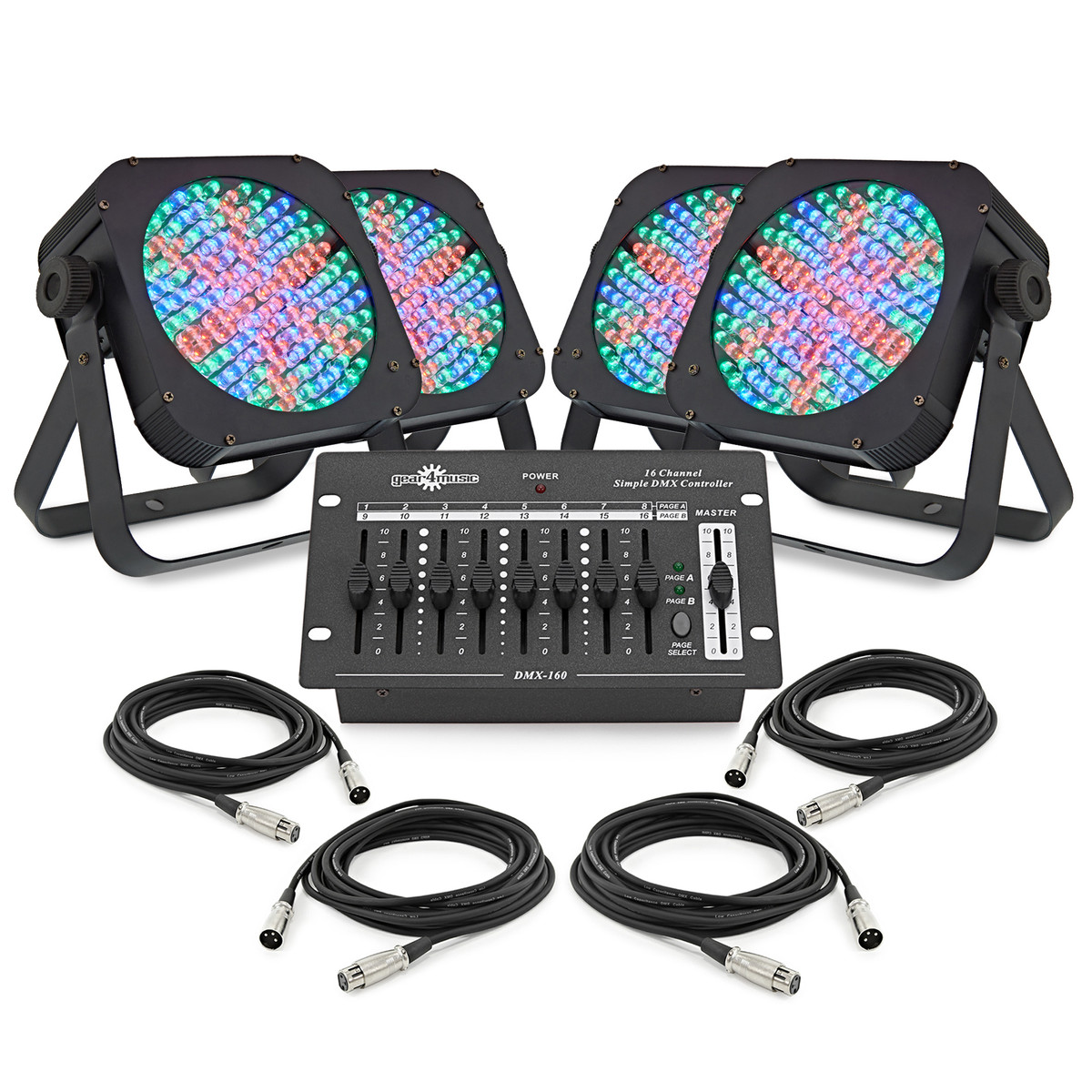 576 x 10mm flat led floor set by gear4music at gear4musiccom for Flat led floor lamp