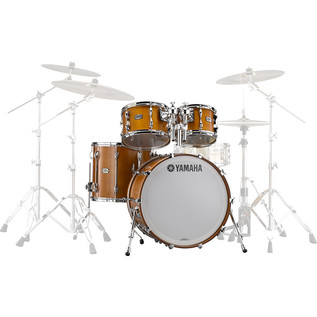 Yamaha Recording Custom 4 Piece Shell Pack, Real Wood