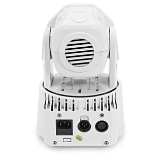 Mini LED Moving Head Twin Pack by Gear4music, White