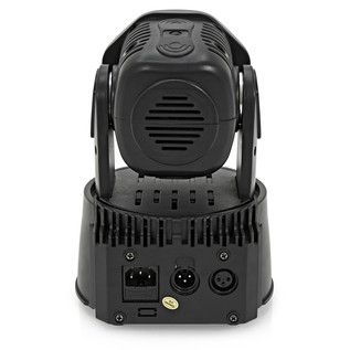 Mini LED Moving Head Quad Pack by Gear4music, Black