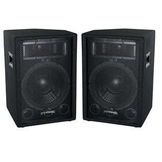Phonic SEM712 Plus Passive PA Speaker, Pair