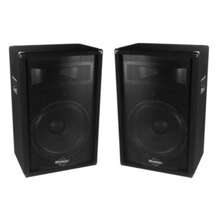 Phonic SEM715 Plus Passive PA Speaker, Pair