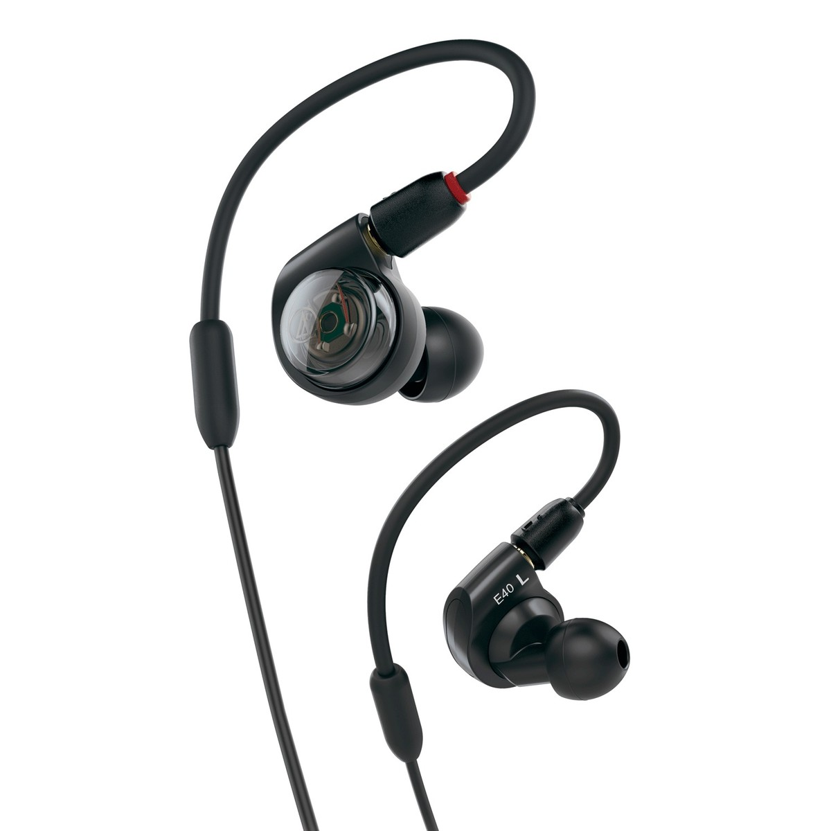 audio technica ath e40 professional in ear monitor earphones at. Black Bedroom Furniture Sets. Home Design Ideas