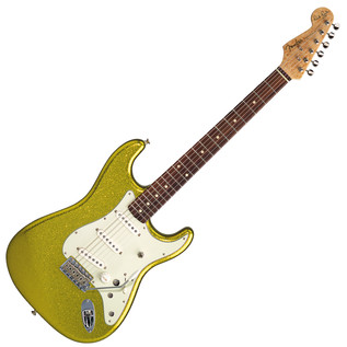 Fender Custom Shop Dick Dale Signature Stratocaster, Chartreuse Sparkle