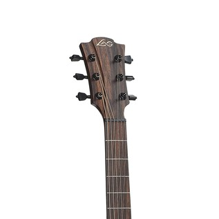 LAG T100D Dreadnought Acoustic Guitar, Black