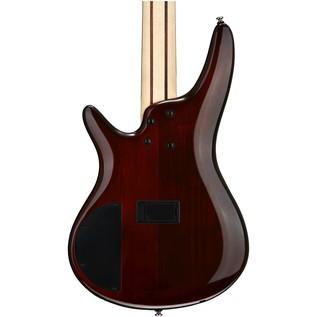 Ibanez SR375E-AWB 5-String Bass Guitar, Aged Whiskey Burst